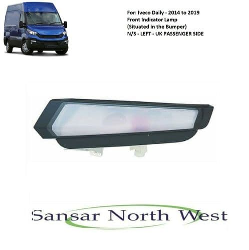 For Iveco Daily - Passenger Side Front Indicator N/S LEFT - 2014 to 2019 Models